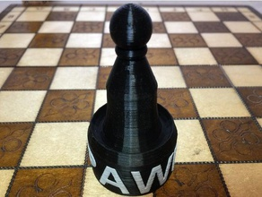 pawn chess piece -with pawn chess asllexicon board game board game pieces board game accessory board game components chess chess pawn chess piece chess pieces game game board game piece game pieces gift  mmu multi multi material multi material print multi-color multi-part olsen pawn pawns pieces present prusa prusa mmu star labs 3d starlabs3d tinkercad todd todd olsen