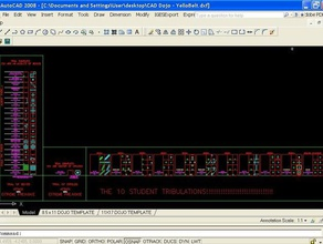 cad dojo template learning autocad draining cad dojo dxf file