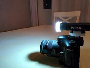 video dslr luce la fotocamera cameralight gopro mount lupino piko tl video luce