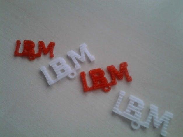 key chain ibm logo other