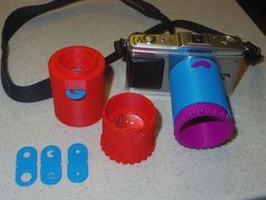 diy micro 4 3 lens v11 single lens design camera bokeh camera camera lens diy lens lomo loupe magnifier micro 43 lens mirrorless olympus olympus ep1 panasonic