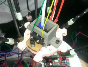 z min endstop mount rostock min 3d printer parts autobedleveling rostock rostock mini z probe