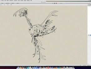 abstract bird sculptures 3d 3d bird 3d bird bones abstract abstract bird abstract bones antlers bird bird bones bones sculpture