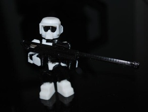imperial scout - k2 - open source minifig people clone imperial scout scout scout trooper star star wars stormtrooper storm trooper wars