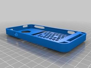 htc evo 4g lte hex case mobile phone customized htc evo 4g lte phone case speaker tunnel hex tinkercad