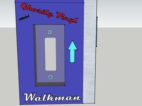 ghostly walkman electronics ghostlyvinyl sony walkman