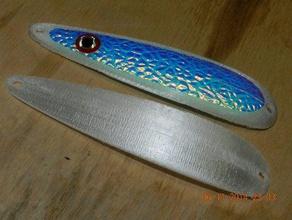 slide spoon 465 inch size sport & outdoors fishing fishing lure fishing spoo