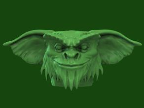 gremlin head creatures creature head gremlin gremlins gremlin head vfxbase