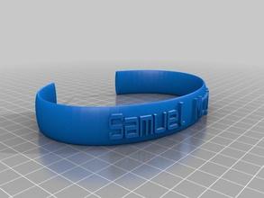 sam brac bracelets customized