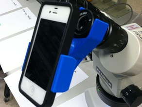 universal microscope phone adapter engineering 3d android arsenal arsenal products camera eyepiece gadget iphone iphone3 iphone4 iphone4s iphone5 telescope