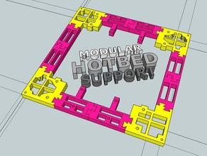 prusa i3 modular hotbed support 3d printer parts hotbed modular prusa i3 support