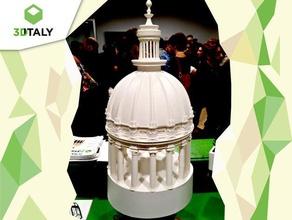 la catedral de play cúpula de san giorgio ragusa ibla sicilia las estructuras de edificios de la arquitectura edificio capital capitello de la catedral catedral chiesa de la iglesia colonna columna cúpula la cúpula italia play set de puzzle sicilia