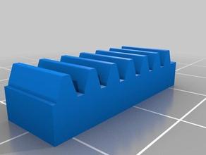 3er lego rack gear construction toys customized