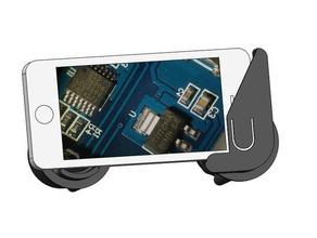 iphone 5 microscope eyepiece adapter mobile phone eyepiece iphone 5 microscope mobile phone