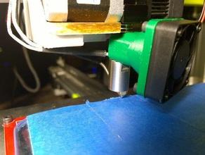simple snap pico fanmount 3d printers 40mm 40mm fan fan fan mount fan shroud pico pico hotend