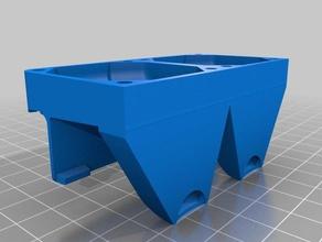 malyan m180 freesculpt ex2 pla dual blower 3d printer parts fanduct m180 malyan