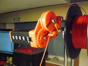 Filament length counter