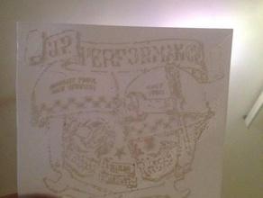 jp performance skull logo plate signs & logos jp performance