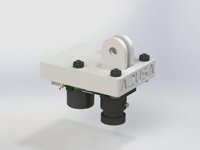 a2usa w&l cit px4flow mount iris Robotik a2usa gelişmiş antenler yüksek dört rotorlu eşleme px4flow quadcopter dört rotorlu slam uav