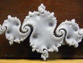 quadratic julia set c -0775 + 009i math art 3d fractal fractal fractal art julia fractal