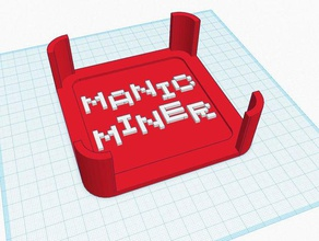 zx spectrum manic miner coaster set 3d printing coaster coaster set game games gaming manic miner retro zx spectrum