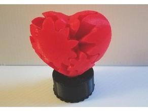 bottom crank heart gear heart heart gear heart gears screwless heart gears valentine valentines day valentines day gifts valentine heart box bottom