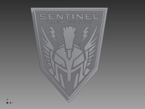cod aw sentinel task force medallion signs & logos advanced warfare call duty cod cod aw stf