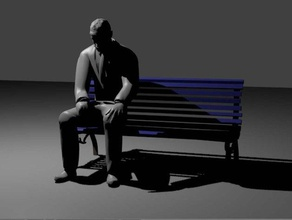 sad man sitting models keanu reeves double man sad sad man sitting so sad