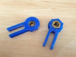robo3d z isolator 3d printer parts isolator robo3d robo3d z isolator z z-axis z axis z isolator