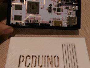 pcduino lite case 3d printing arduino embedded electronics pcduino