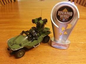 ultimate halo warthog pinewood derby car vehicles derby halo pinewood pinewood derby warthog