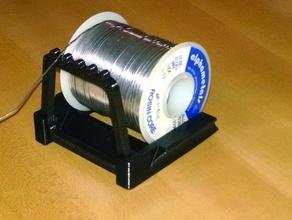 solder holder parts solder solder holder solder spool solder stand solidworks spool spool mount