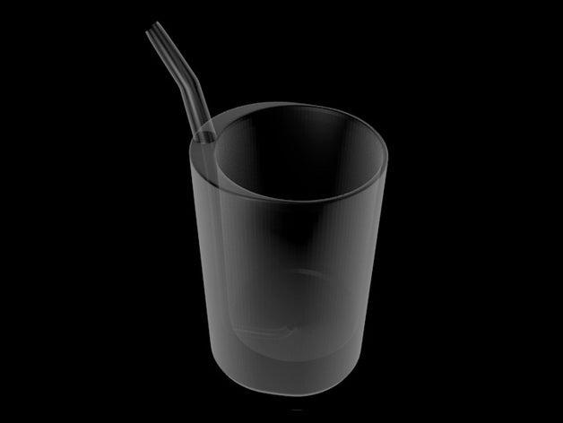 slurpz glass straw includ