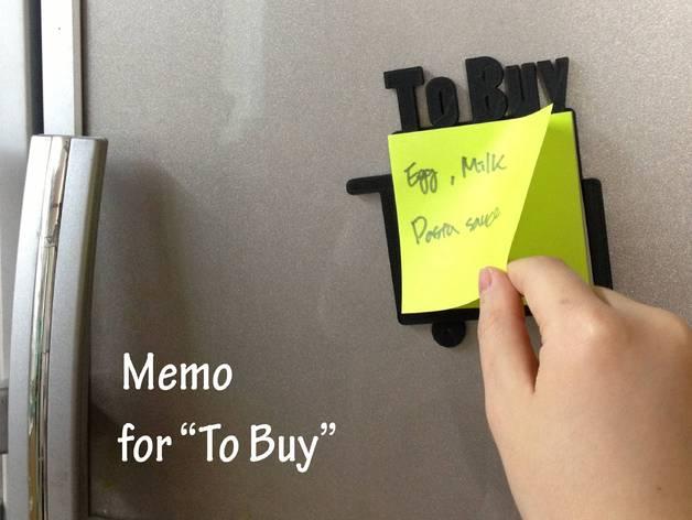 frame memo buy household