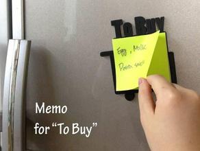 frame memo buy household buy countertopchallenge kitchen memo post-it purchase