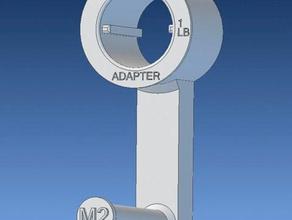 taulman reel adapter for 3d printer accessories 1lb reel 1lb spool adapter filament holder m2 makergear makergear m2 reel holder spool spoolholder spool holder taulman