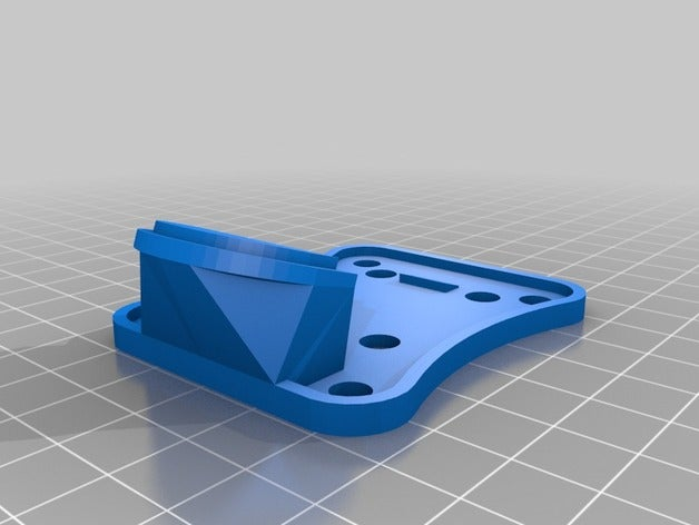 tilted mobius mount plate