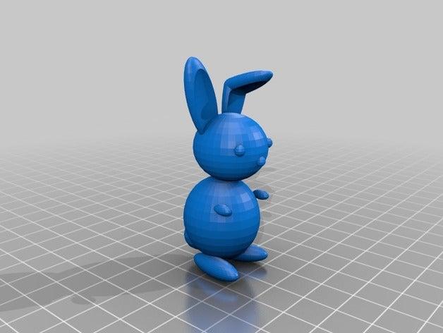 bunny 3d printing
