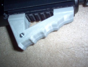 angled rail grip sport & outdoors airsoft angled foregrip grip railed