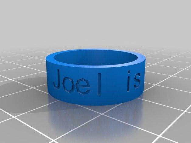 joel pro rings customized