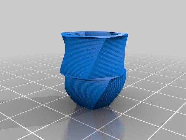 vase math art customized