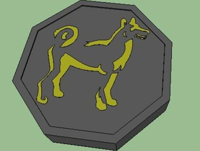 dog talisman jackie chan adventures props dog jackie chan jackie chan adventures talisman zodiac