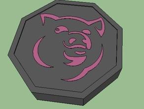 pig talisman jackie chan adventures props jackie chan jackie chan adventures pig talisman zodiac