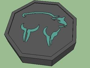 sheep talisman jackie chan adventures props jackie chan jackie chan adventures sheep talisman zodiac