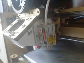 laser mount printrbot plus lc 3d printer parts cnc laser lasercutter laser cutter printrbot printrbot lc printrbot plus printrbot upgrade printrbot upgrade part