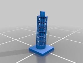 torre pendente di pisa edifici e strutture