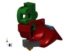 makergear m2 filament drive shrouds v3b hotend 3d printer parts m2 m2 dial m2 filament drive m2 mount m2 shroud makergear makergear m2 makergear shroud