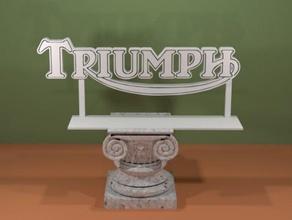 triumph logo signs & logos logo motorcycle sign triumph triumph logo