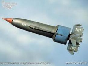 thunderbird 1 toys & games flight plane rocket rocketship scot thunder thunderbird thunderbird 1 tracy