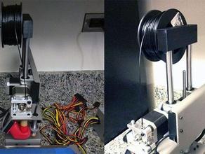 printrbot simple - filament spool holder small spools 3d printer accessories filament filament holder filament spool holder printerbot printerbot simple printrbot printrbot simple printrbot simple metal spool spool holder
